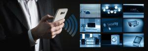 Funk Alarmanlagen lassen sich ins Smart Home integrieren